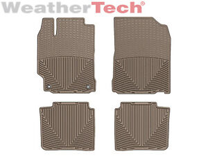 Weathertech All weather Floor Mats For Toyota Camry 2012 2017 Tan