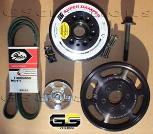 2015 2019 C7 Z06 Corvette Lt4 Balancer And Lower Supercharger Pulley Kit