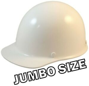 Msa Skullgard large Shell Cap Style Hard Hat With Ratchet Suspension White