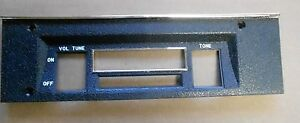 Mopar 69 Charger Radio Face Plate Bezel 1969 New