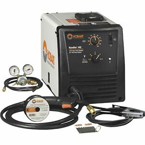 Free Shipping Hobart Handler 140 Wire feed Mig Welder 115v Model 500559