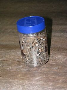 Antique Square Steel Cut Nails 3 Pounds Assorted 1 1 2 2 1 2
