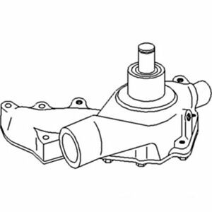 Water Pump John Deere 6030 7520 5400 5200 Ar53547