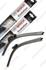 Bosch Evolution Beam Wiper Blade 22 20 set Of 2 Front 4822 4820