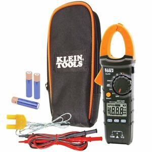 Klein Cl210 Ac dc Voltage Auto ranging Temperature Digital Clamp Meter