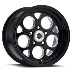 15x10 Vision 561 Sport Mag 5x120 65 Et0 Black Rims Set Of 4