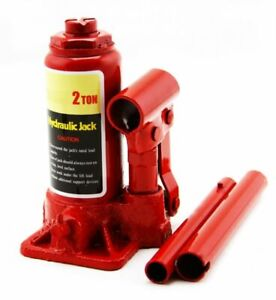 2 Ton Hydraulic Bottle Jack 4000lb Lift Heavy Duty Automotive New Free Shipping