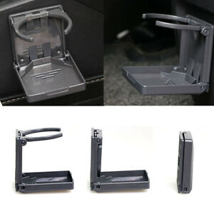 Adjustable Black Folding Drink Cup Holder Mount Boat Marine Car Truck Rv