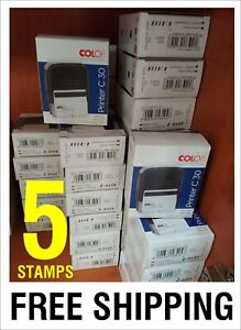 Colop Self Inking Rubber Stamp Garage Manual Book Specialist approved Service