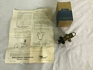 Nos 1948 53 Buick Stromberg Carburetor Starter Switch Bendix 386030