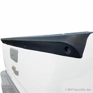 Tailgate Spoiler Cap Cover For Chevy Silverado 2007 2013 Top Protector Lip Black
