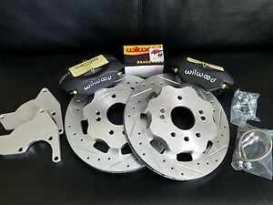 Datsun 510 New Rear Wilwood Disc Brake Conversion Complete Kit 68 73 Coupe 5 Lug