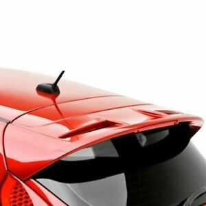 For 11 15 Ford Fiesta 5dr Hatch Painted Rear Trunk Spoiler Candy Red U6
