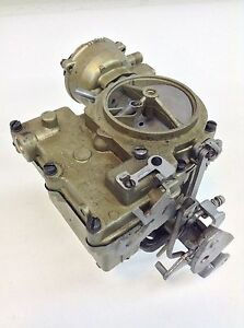 Rochester 2gc Carburetor 1962 Pontiac 420 4 Speed Eng With A C 7020076 7020077