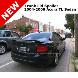 For Acura Tl 4dr 04 08 4 Dr Trunk Spoiler Rear Painted Nighthawk Black B92p