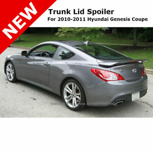For Hyundai Genesis Coupe 10 14 Painted Rear Trunk Spoiler Ceramic White Naa