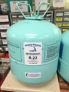 R22 Refrigerant Disposable Cylinder 5 Lb Virgin R 22 Refrigerant 22 New