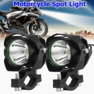 2x Motorcycle Car Truck 30w T6 Led 1200lm Driving Headlight Fog Lamps Spot Light