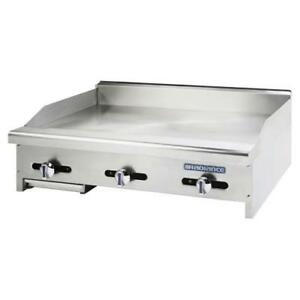 Turbo Air Tamg 36 Radiance 36 Countertop Gas Griddle Flat Top Grill