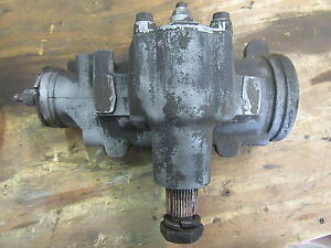 1959 Cadillac Sedan Deville Front Power Steering Gear Box Assembly Mount Hot Rod