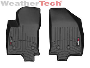 Weathertech Floor Mats Floorliner For Chevrolet Volt 2016 2019 1st Row Black
