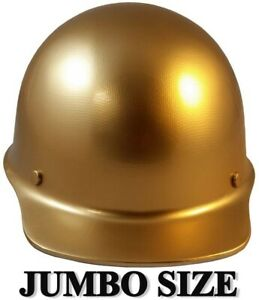 Msa Skullgard large Shell Cap Style Hard Hats With Staz On Suspension Gold