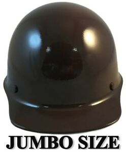 Msa Skullgard large Shell Cap Style Hard Hats With Staz On Suspension Brown