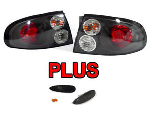 Red Black Clear Tail Lights Smoke Bumper Side Marker For 2004 2006 Pontiac Gto
