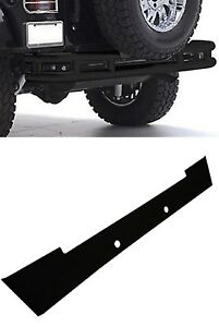 Smittybilt Black Textured Front Cover Rear Tubular Bumper Kit For Wrangler Jk