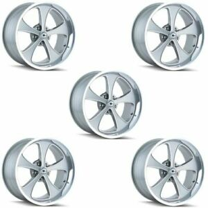 Ridler 645 2165gp Set Of 5 Style 645 20x10 5x114 3mm 0 Offset Grey Rims