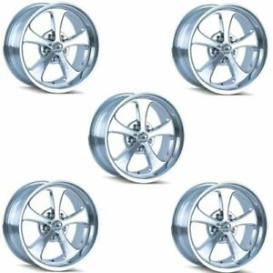 Ridler 645 7765c Set Of 5 Style 645 17x7 5x114 3mm 0 Offset Chrome Rims