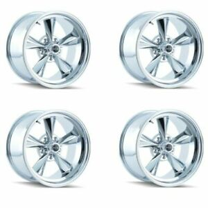 Ridler 675 5765c Set Of 4 Style 675 15x7 5x114 3mm 0 Offset Chrome Rims