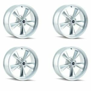 Ridler 675 5761p Set Of 4 Style 675 15x7 5x120 65mm 0 Offset Polished Rims