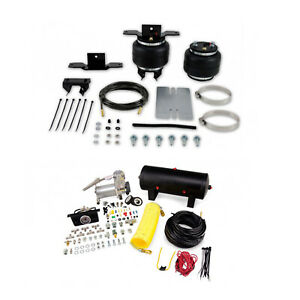Air Lift Control Air Spring Dual Path Air Compressor Kit For Toyota Motorhome