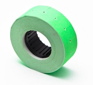 Motex Mx 5500 Label Green 100 Rolls Of 1000 Each Total 100 000 Labels Usa Sale
