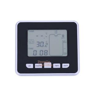 100m Wireless Ultrasonic Water Tank Level Meter Temperature Sensor W transmitter