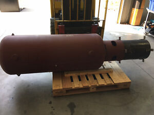 120 Galloncompressed Air Tank Receiver Silvan Industries 200 Psi 450 Degrees F