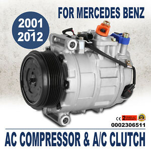 Brand New A c Ac Compressor Clutch Air Conditioning Pump 2 Year Warranty Top