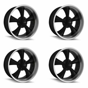 Ridler 695 7765mb 695 2865mb Set Of 4 Style 695 17x7 20x8 5 5x114 3 Black Rims