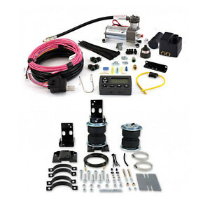 Air Lift Control Air Spring Wireless Air Compressor Kit For 96 08 Ford E 450