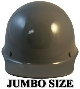 Msa Skullgard large Shell Cap Style Hard Hats With Staz On Suspension Gray