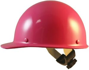 Skullgard Cap Style Hard Hats With Swing Suspension Hot Pink