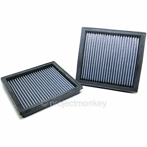 Blitz 59518 Drop in Intake Panel Air Filter Dual Fits Infiniti G37 Nissan 370z