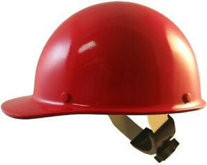 Msa Skullgard Cap Style With Swing Suspension Red