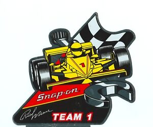 New Vintage Snap On Tools Rick Mears Indy Tool Box Sticker Racing Decal Ssx845yl