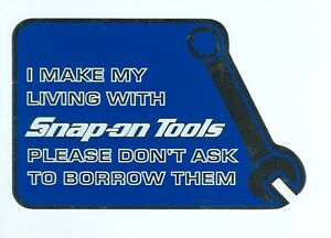 New Vintage Snap on Tools Snap On Tool Box Sticker Decal Man Cave Latest Sm325e