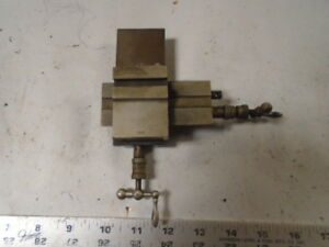 Machinist Tools Lathe Mill G Boley Watchmaker Lathe Compound Cross Slide