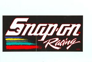 New Vintage Snap On Tools Snap On Racing Tool Box Sticker Emblem Decal Ss1208