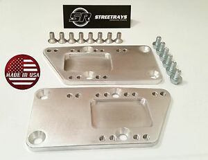 Sr Ls1 Adapter Plate Billet Aluminum Ls Swap Kit Ls Conversion C10 K10 G Body