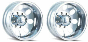 Ion Wheels 167 6670rp Set Of 2 167 Polished 125 Offset 16x6 Wheels